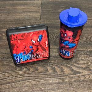 Tupperware Spider-Man Lunch Set